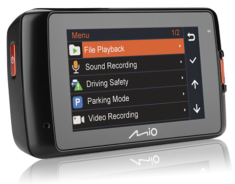 Mio MiVue 608 Car Video Recorder Black MIVUE_608